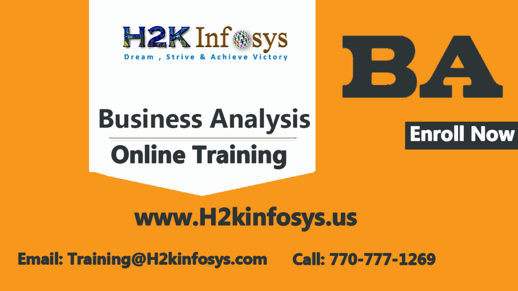 BA Online Training In USA