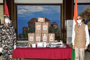 India Gifts 10 Ventilators to Nepal Army amid COVID-19 Crisis