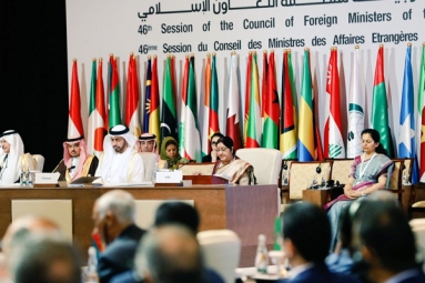 As 'Guest of Honour' EAM Sushma Swaraj Addresses OIC Meet