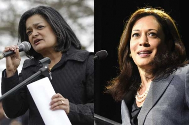 Harris, Jayapal Issue Clarion Calls to Continue to Fight Against Kavanaugh
