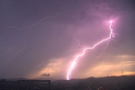 Lightening and Thunderstorms Strike Bay Area