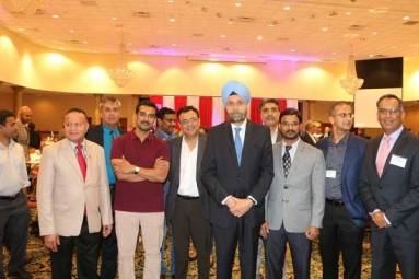 Indian Ambassador to United States addresses Indian American Community in Columbus