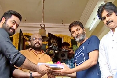 NTR – Trivikram Film Launched